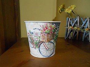 Nádoby - bicyklový kvetináč - 7419441_