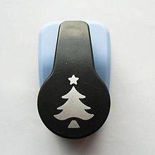 Pomôcky/Nástroje - Dierovačka na hrubší papier, moosgummi - 25 mm, stromček - 7420467_