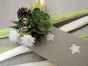 Papiernictvo - štipec na visačky Jingle Bell - 7420595_