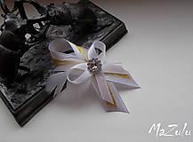 - svadobné pierko v zlatom - 7419604_