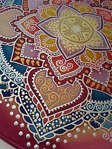 Dekorácie - Mandala radosti a harmónie - 7422016_