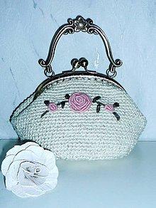 Kabelky - Romantická kabelka - 7419800_