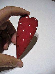 Papier - srdce maľované - 7420880_