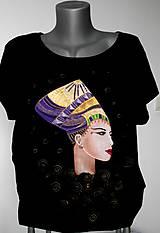Tričká - Tričko s faraónkou - 7419524_