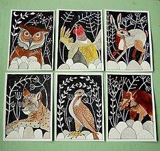 Kresby - kresby lesných zvierat - 7420008_