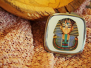Zrkadielka - Zrkadielko s egyptským motívom - 7420727_