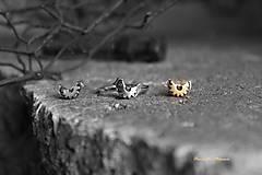 Prstene - strieborný prsteň - steampunk vtáčik - 7420736_