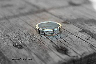 Prstene - steampunk prsteň - 7420288_
