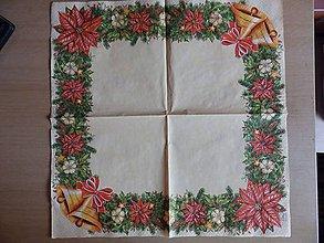 Papier - vianočný lem - 7419382_