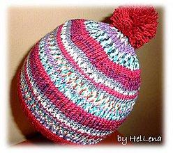 Detské čiapky - Detská čiapka - Strakatá - 7428238_