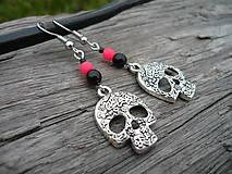 - Náušnice Skull - 7426004_
