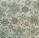 - S893 - Servítky - vločka, sneh, zima, vianoce - 7423819_