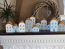 Dekorácie - Drevené dekoračné domčeky - 7426065_