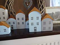 Dekorácie - Drevené dekoračné domčeky - 7426066_