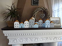 Dekorácie - Drevené dekoračné domčeky - 7426068_