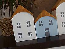 Dekorácie - Drevené dekoračné domčeky - 7426069_