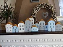 Dekorácie - Drevené dekoračné domčeky - 7426070_