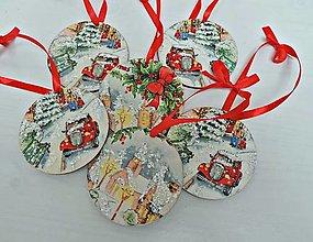 Dekorácie - Vianočné ozdoby - 7427323_