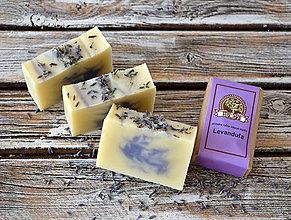 Drogéria - Len tak tak: Ľevanduľové prírodné mydlo - 7426913_