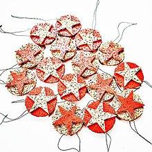 Dekorácie - Vianocna ozdoba - 7428723_