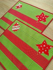 Úžitkový textil - Prestieranie *Vianoce* - 7425659_