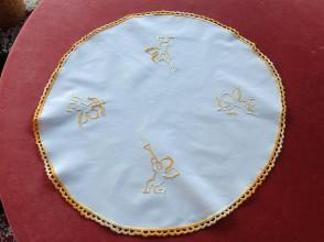 Úžitkový textil - Obrus anjelikovia - 7426540_