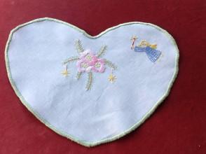 Úžitkový textil - Anjelik so sviečkou - 7426584_