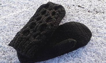 Iné oblečenie - Dámske rukavice - 7423699_
