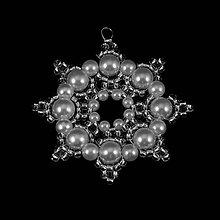 Dekorácie - Vianočná ozdoba I. - biela - 7427900_