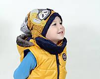 Detské čiapky - Čiapka a nákrčník - 7426236_