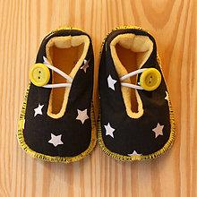 Topánočky - Capačky hviezdičkové - 7427294_