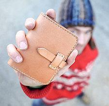 Peňaženky - Celokožená peňaženka \