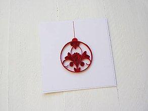 Papiernictvo - vianočná pohľadnica - 7424450_
