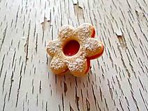 Linecký kvietok - brošňa (malá)