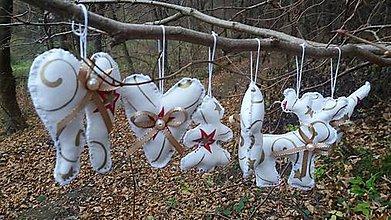 Dekorácie - Vianočné ozdoby - 6 kusov - 7434921_