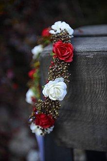 Ozdoby do vlasov - venček by michelle flowers - 7430226_