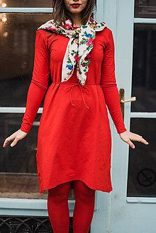 Šaty - Bamboo šaty Amabile červené - 7432983_