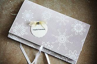 Papiernictvo - Vianočná obálka na peniaze - 7430719_