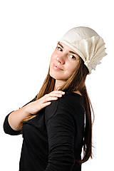 Čiapky - Biely vlnený klobúk, ručne plstený z merino vlny, Vintage dámsky klobúk - 7431944_