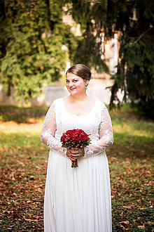 Šaty - svadobné šaty-MONI - 7434940_