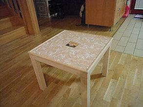 Nábytok - konferenčný mozaikový stôl (stolík) Cappuccino - 7433389_