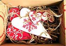 Dekorácie - Andreas: Vianočné ozdoby sada 10ks - 7434494_