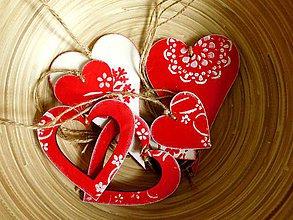 Dekorácie - Andreas: Vianočné vrecko s ozdobami (7ks) - 7434607_