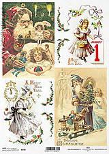 Papier - Ryžový papier Vianoce - 7432081_