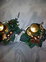 Svietidlá a sviečky - Adventná dekorácia - 7433971_
