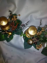 Svietidlá a sviečky - Adventná dekorácia - 7433972_
