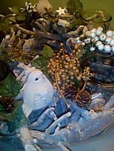 Svietidlá a sviečky - Vianočný svietnik - 7434159_
