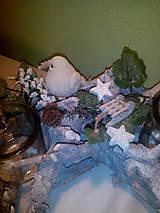 Svietidlá a sviečky - Vianočný svietnik - 7434161_