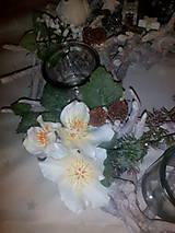 Svietidlá a sviečky - Vianočný svietnik - 7434180_