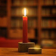 Svietidlá a sviečky - Svietnik v tvare srdca - 7432280_